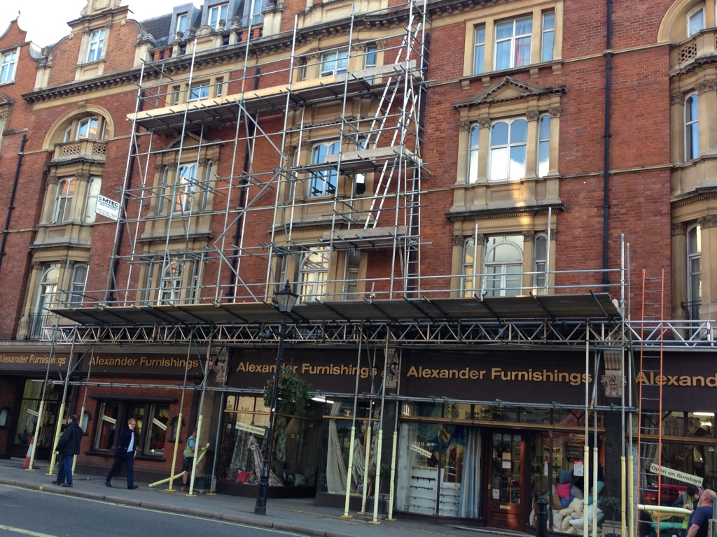 Commercial Scaffolding Mtec